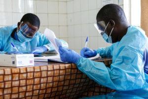 Doctors working in Sierra Leone